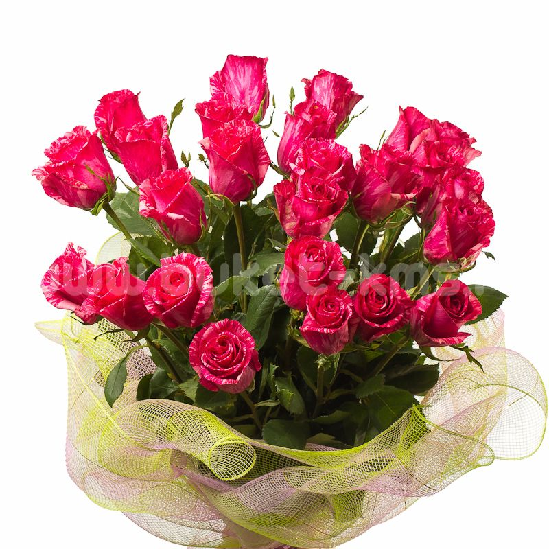 "Букет цветов из 25 роз ""Пинк Интуишн"""