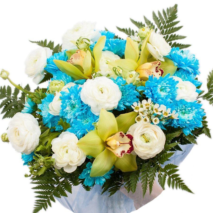 "Букет цветов ""Небо"""